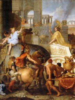 Арт.26403 Лебрен Шарль. Триумфальный въезд Александра Великого в Вавилон