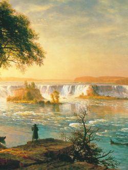 Арт.27401 Альберт Бёрстадт. Водопад