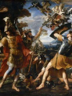 Арт.26006 Франсуа Перье. Эней с аргонавтами