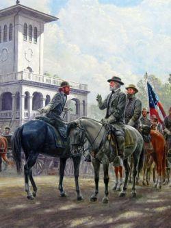 Арт.26159 Морт Канцлер .  Гражданская война в США