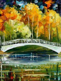 Арт.30309 Белый мостик