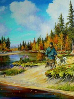 Арт.32979 Андрей Лях. На охоту