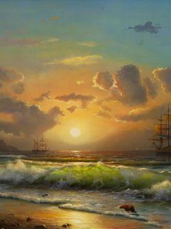 Арт.31515 Морской закат