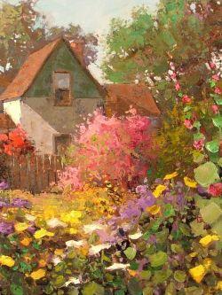 Арт.31756 Шон Уоллис. Цветущий сад