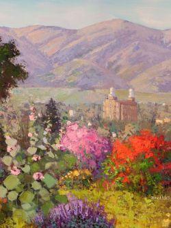 Арт.31759 Шон Уоллис. Цветочный храм