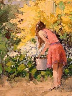 Арт.31773 Шон Уоллис. Сбор цветов