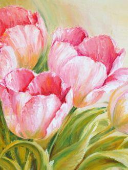 Арт.33412 Розовые тюльпаны