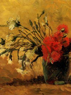Арт.33419 Винсет Ван Гог. Красные гвоздики