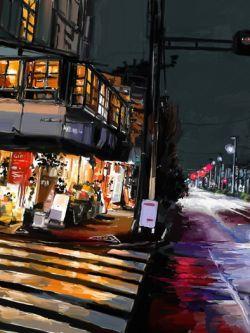 Арт.31011 Ночной Токио