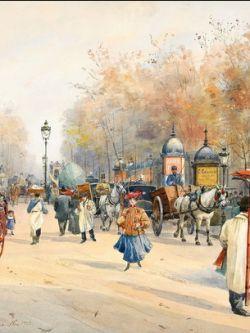 Арт.31037 Анна Пальм де Роса. Париж