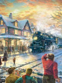 Арт.31038 Встреча рождественских гостей