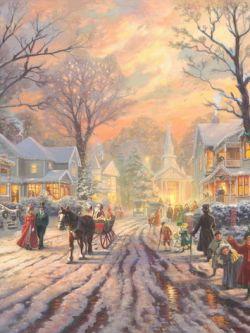 Арт.31039 Томас Кинкейд. Рождественские гуляния